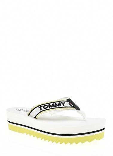 Tommy Hilfiger Plaj Terliği Beyaz